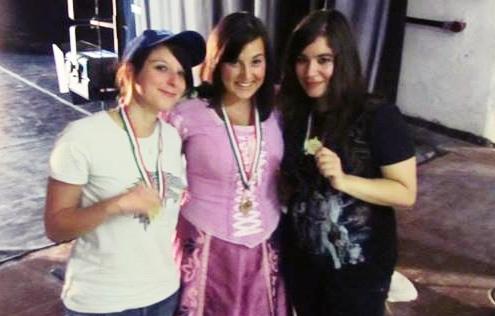 "Vincitrici del premio ""Sarabanda Disney"""